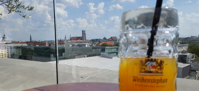 München TU Bar Cafe Dachterrasse