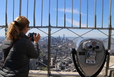 New York Empire State Building Ausblick