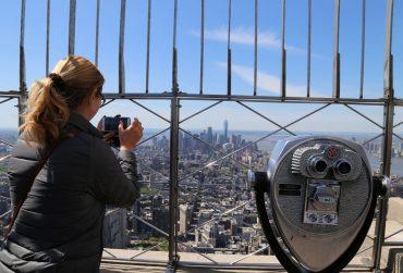 New York Empire State Building Ausblick