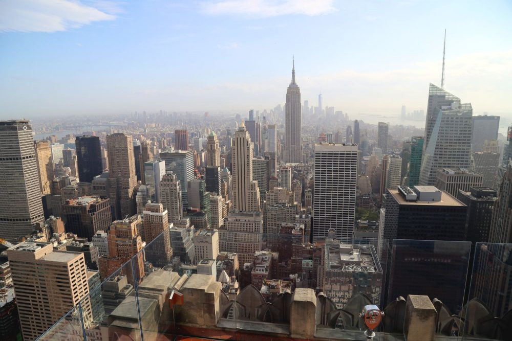 New York Ausblick vom Top of the Rocks