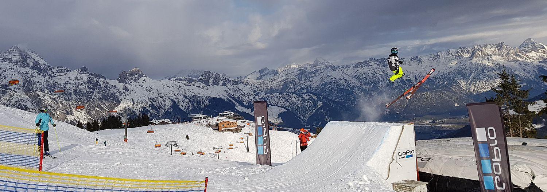 Skicircus Snowpark Funpark Hinterglemm Saalbach Leogang Saalfelden