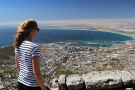 Kapstadt Tafelberg Ausblick