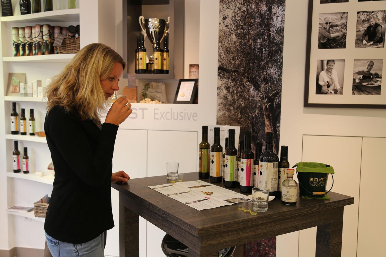 Istrien Olivenöl Verkostung