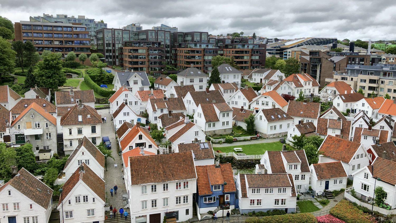 Stavanger Altstadt Holzhäuser