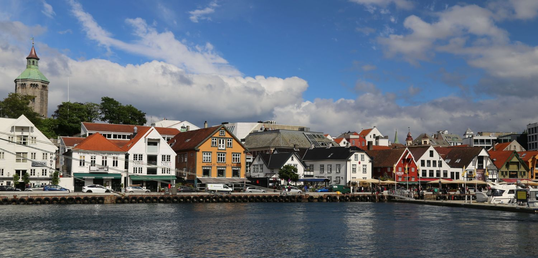 Stavanger Norwegen Altstadt