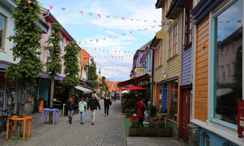 Stavanger Altstadt Norwegen