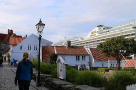 Stavanger Altstadt Norwegen AIDA