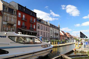 Le Boat Hausboot Elsass Saverne Schleuse