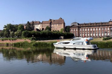 Hausboot Elsass Leboat Schloss Rohan in Saverne