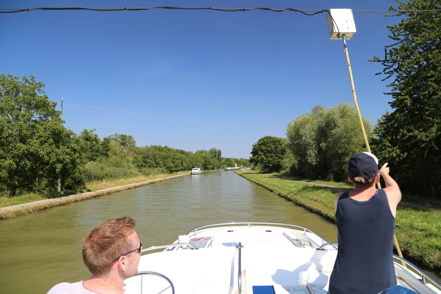 Hausboot Le Boat Elsass Schleuse