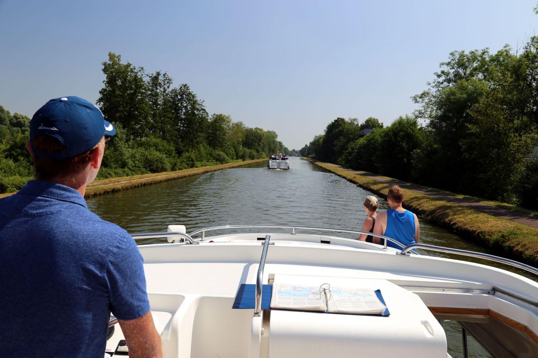 Hausboot LeBoat Elsass Entspannte Fahrt auf dem Canal de la Marne au Rhin