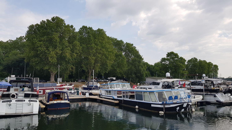 27 Hausboot LeBoat Elsass Straßburg