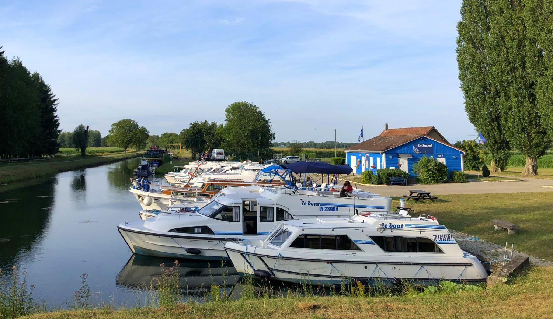 Hausboot Rhein-Rhone-Kanal LeBoat Elsass Boofzheim