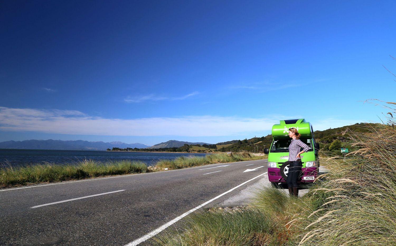 Mit dem Campervan durch Neuseeland
