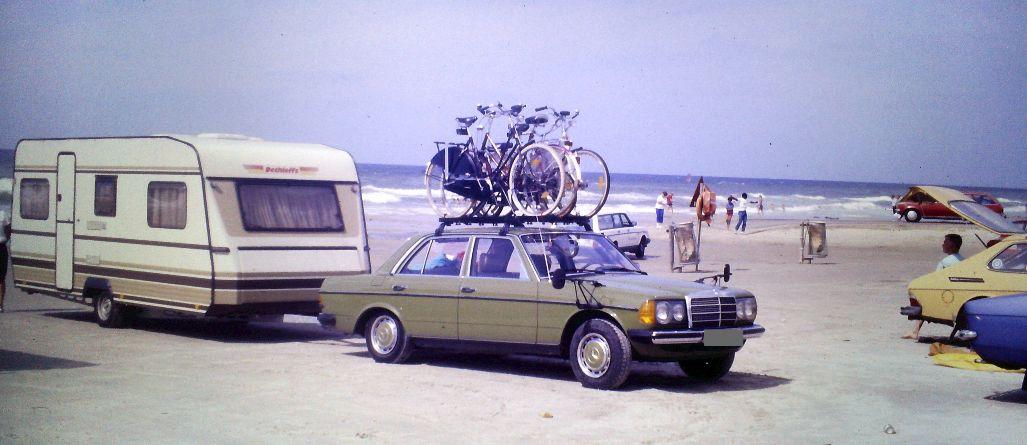 Urlaub mit dem Wohnwagen in Dänemark in den 80er Jahren