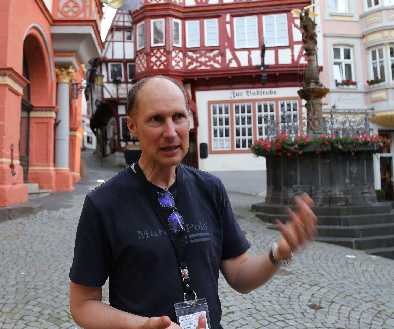 Mosel Bernkastel-Kues Wein Stadtführung